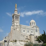 Desde lo alto de la Colina de la Garde en Marsella