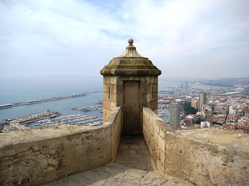 Visita al Castillo de Santa Bárbara de Alicante