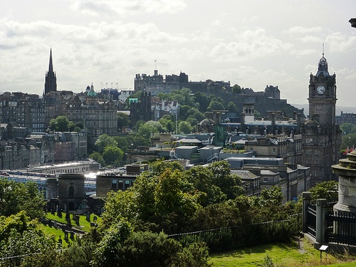 Edimburgo en tiempo de vacaciones