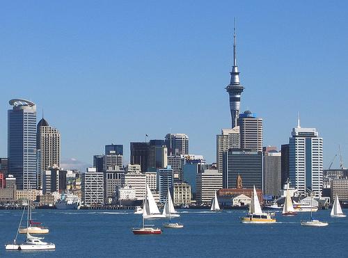 Auckland, al otro lado del mundo