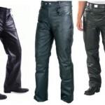 Guía para lucir pantalones de cuero – Hombres