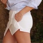 La falda papiro, el nuevo boom de esta temporada