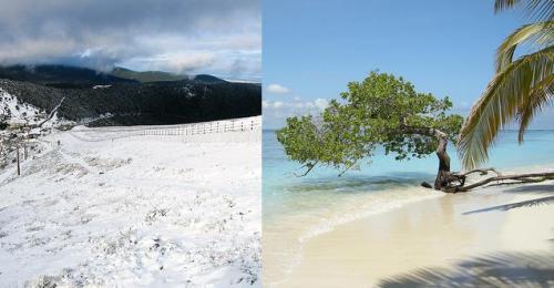Lugares para vacacionar durante el invierno