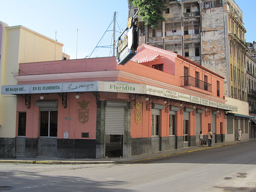Tómese un Daiquirí en la Floridita de la Habana