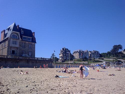 Vacaciones en la ciudad costera de Dinard – Francia